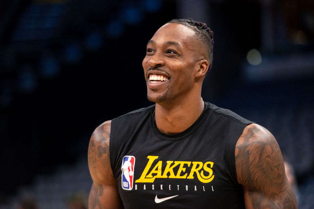 Santa Claus Dwight Howard Came Early for His Lakers Teammates