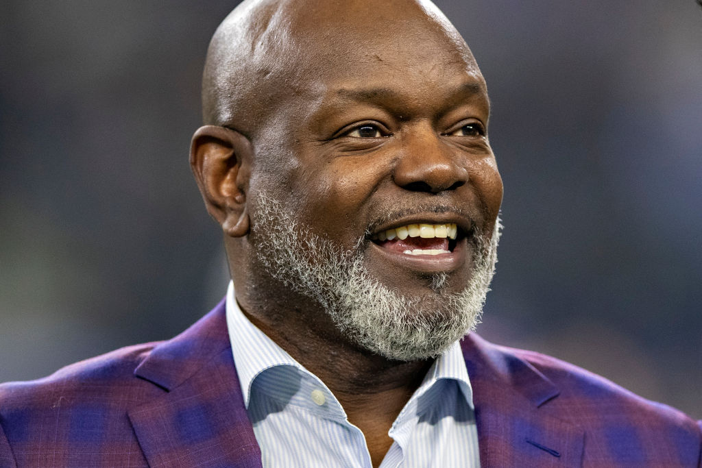 Emmitt Smith is proud that his son is carving out his own path