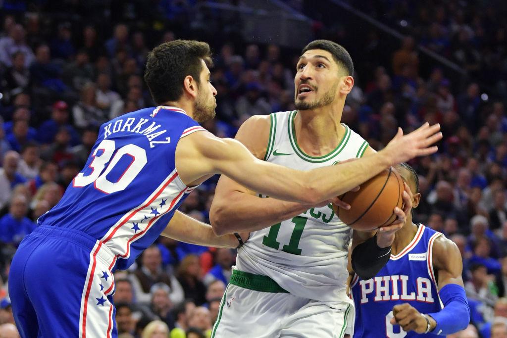 Boston Celtics center Enes Kanter will be taking the court against the Toronto Raptors on Christmas Day.