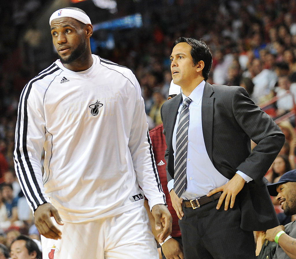 Heat coach Erik Spoelstra reveals why LeBron James keeps playing at a high level in his mid-30s -- and it's not just luck or good genes.