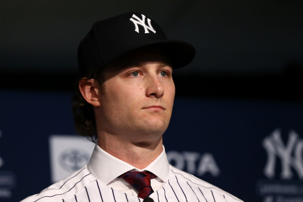 After joining the New York Yankees, pitcher Gerrit Cole shaved his beard and cut his hair.