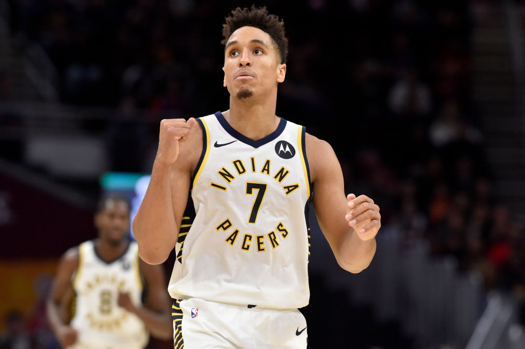 Malcolm Brogdon credits former Bucks teammate Giannis Antetokounmpo for helping make him the player he is today.