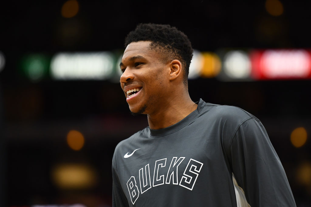 Giannis Antetokounmpo and his Bucks teammates are having a blast in the 2019-20 season, and not just because they're winning so many games.