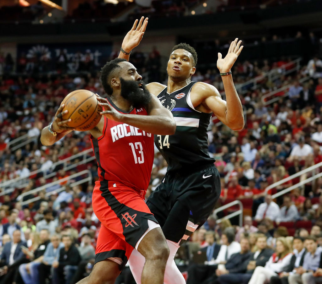 James Harden's scoring prowess vs. Giannis Antetokounmpo's all-around game is must-see TV in the NBA MVP race.