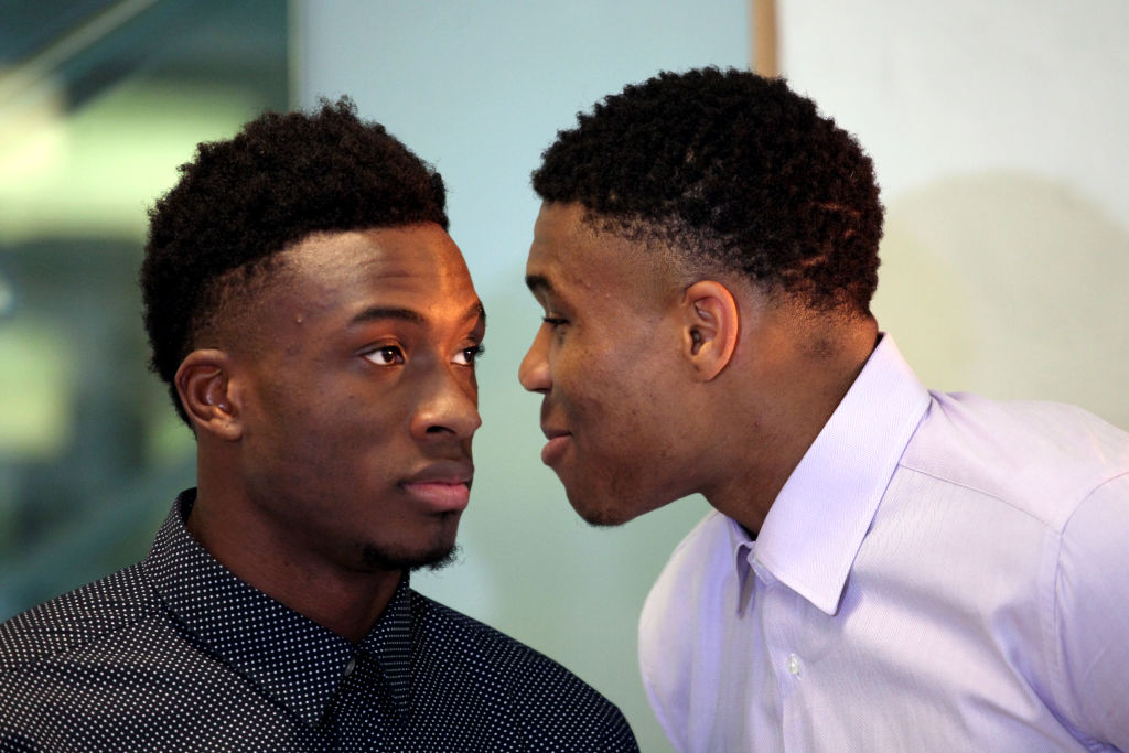 When the Los Angeles Lakers and Milwaukee Bucks meet, all three Antetokounmpo brother will be in the building.