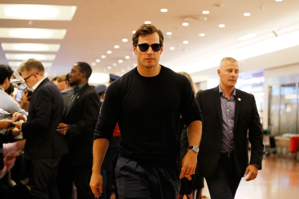 Actor Henry Cavill has taken to the NFL and is a fan of the Kansas City Chiefs.