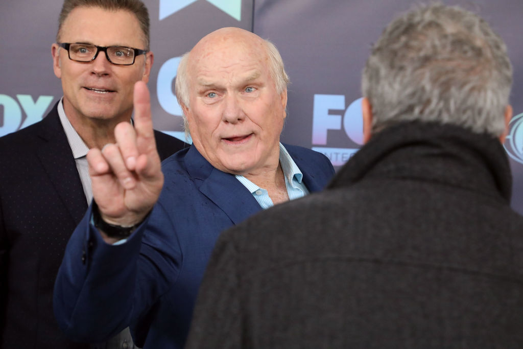 Howie Long and Terry Bradshaw attend the 2019 Fox Upfront