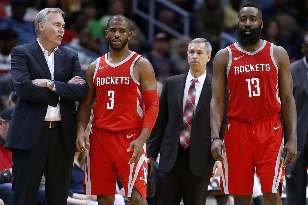 The relationships between James Harden and Chris Paul soured over time