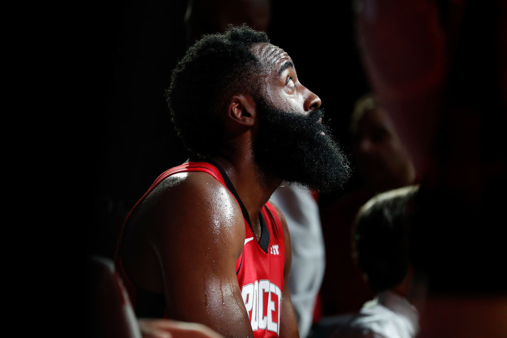 James Harden believes the Rockets should have received another shot at regulation