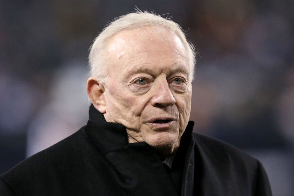The Dallas Cowboys will probably miss the playoffs, and Jerry Jones is not happy.