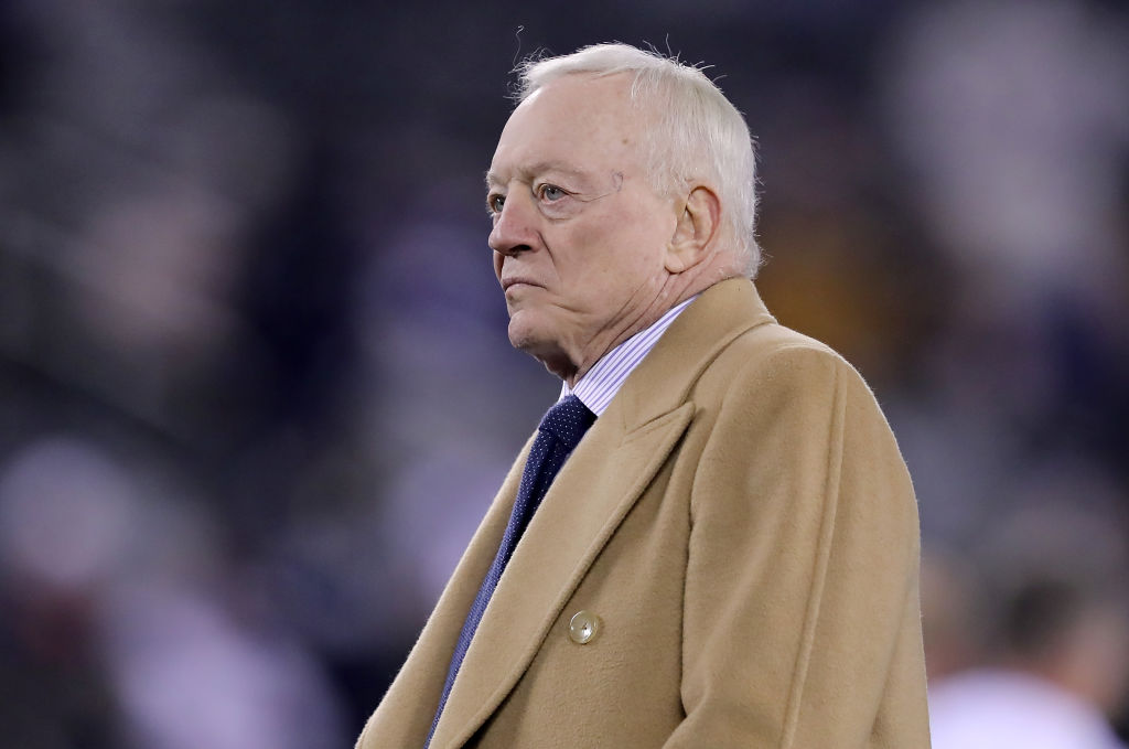 Jerry Jones doesn't want help running the Dallas Cowboys, whether it's from Troy Aikman or anyone else.