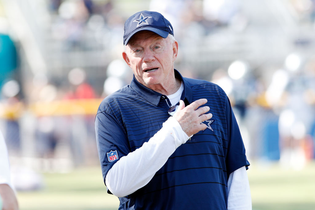 Jerry Jones is never shy about talking up his Dallas Cowboys.