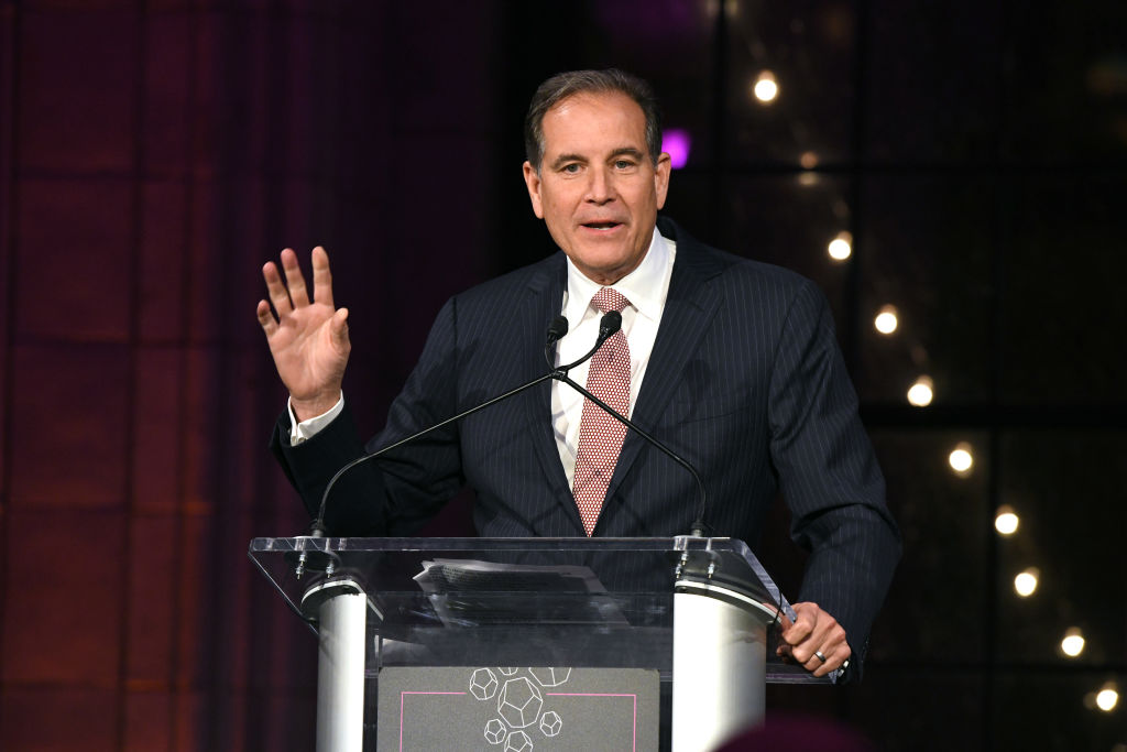 """Whether he's calling golf of NFL football, Jim Nantz always begins the broadcast with """"hello, friends."""""""