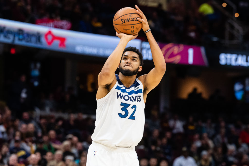 Karl-Anthony Towns has added one element to his game that could help him become the next Dirk Nowitzki.