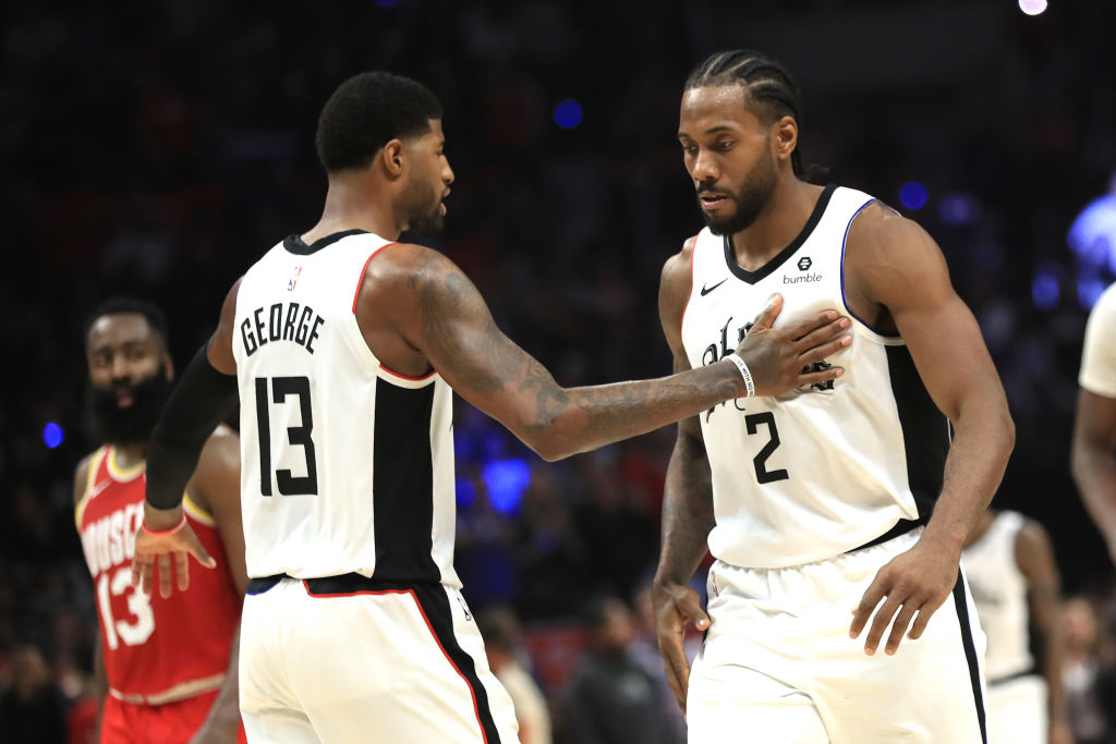 Kawhi Leonard and Paul George make the Los Angles Clippers a scary team to face.
