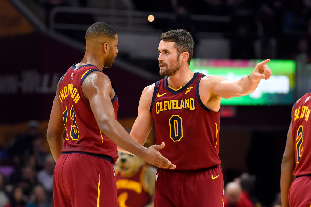 Kevin Love has been tied to trade rumors throughout the 2019-20 NBA season, and he's as surprised as anyone that he's still with the Cavaliers.