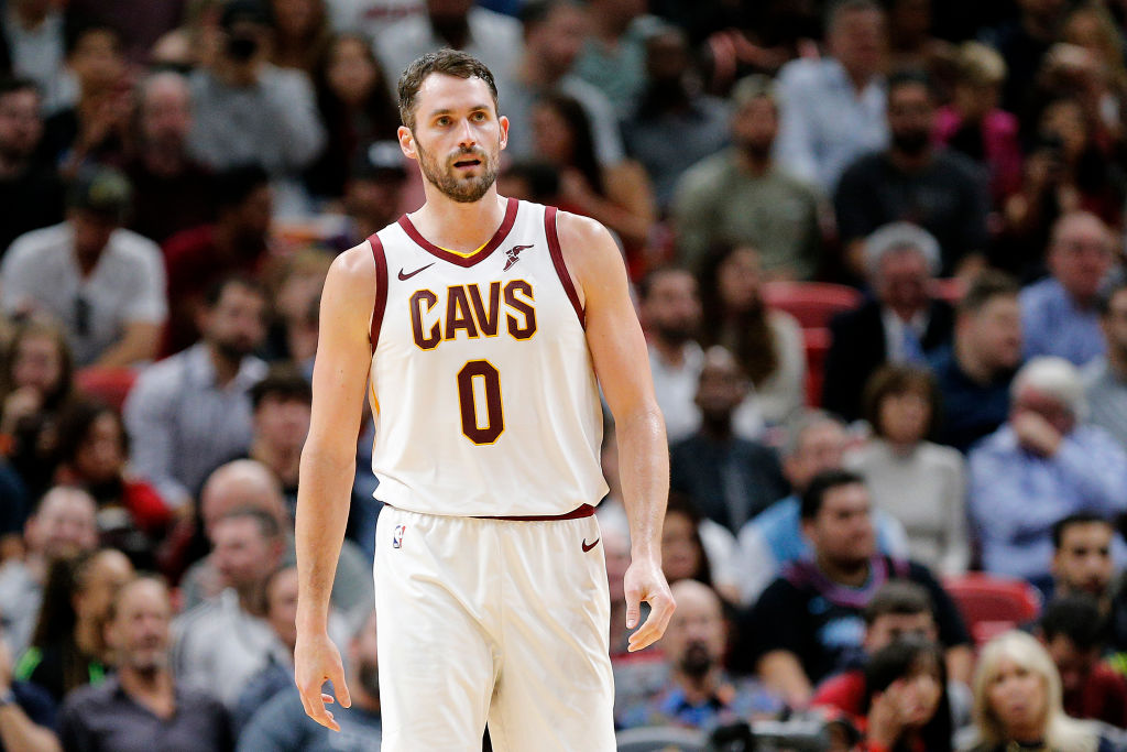 Kevin Love will be a hot commodity on this year's NBA trade market