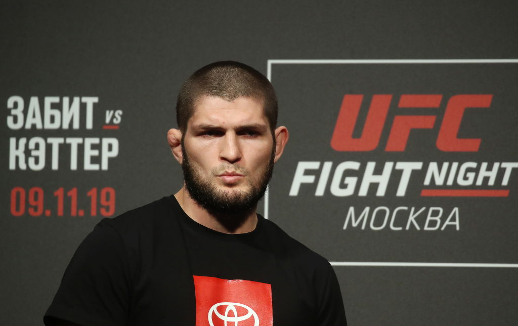 Khabib Nurmagomedov is one of the best fighters the UFC has ever seen, but that doesn't mean he's taking his Tony Ferguson fight lightly.