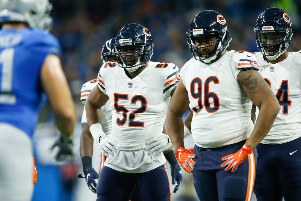 Khalil Mack has been at his best with Akiem Hicks demanding attention on the line