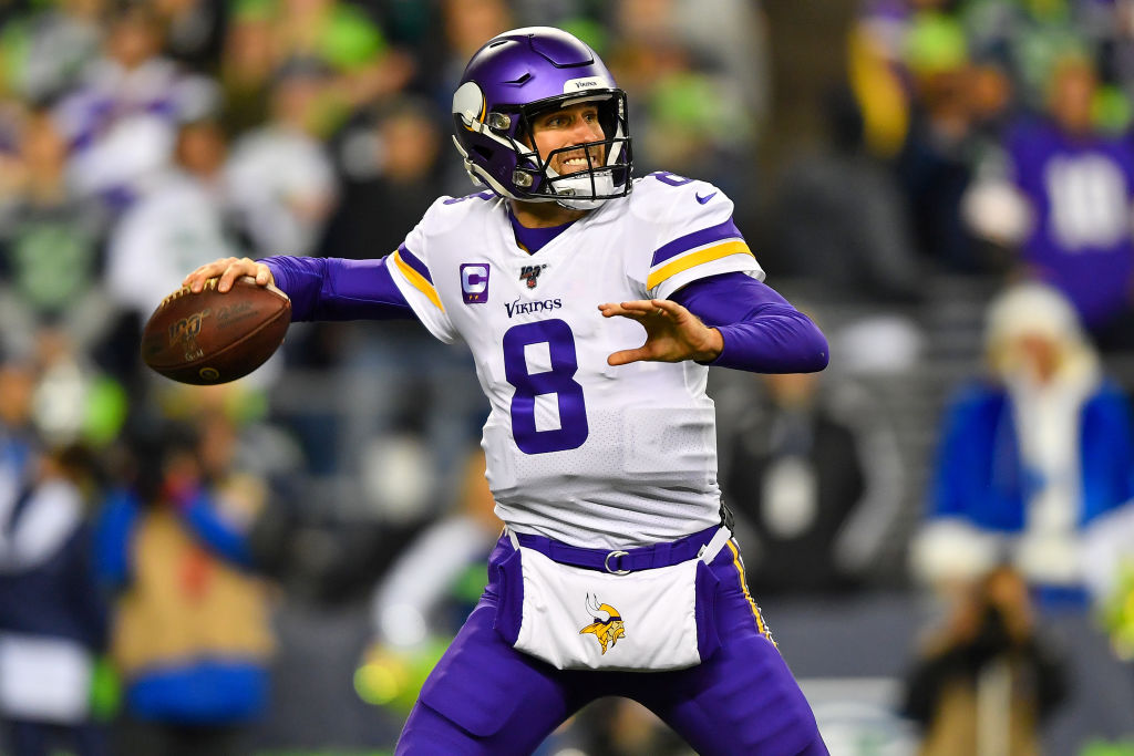 Kirk Cousins won't have to wait long for another Monday Night Football game