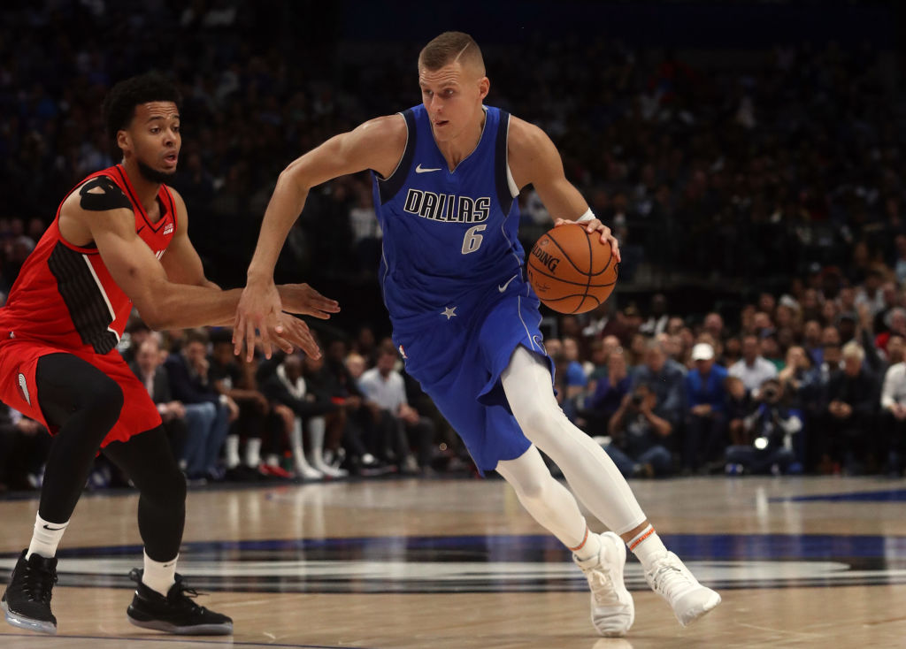 Despite Luka Doncic's amazing play, Kristaps Porzingis might be the Mavericks' MVP so far this season for one simple reason, according to owners Mark Cuban.