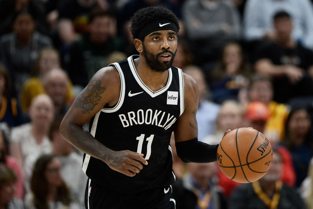 Brooklyn Nets point guard Kyrie Irving has been sidelined with a mysterious shoulder injury.