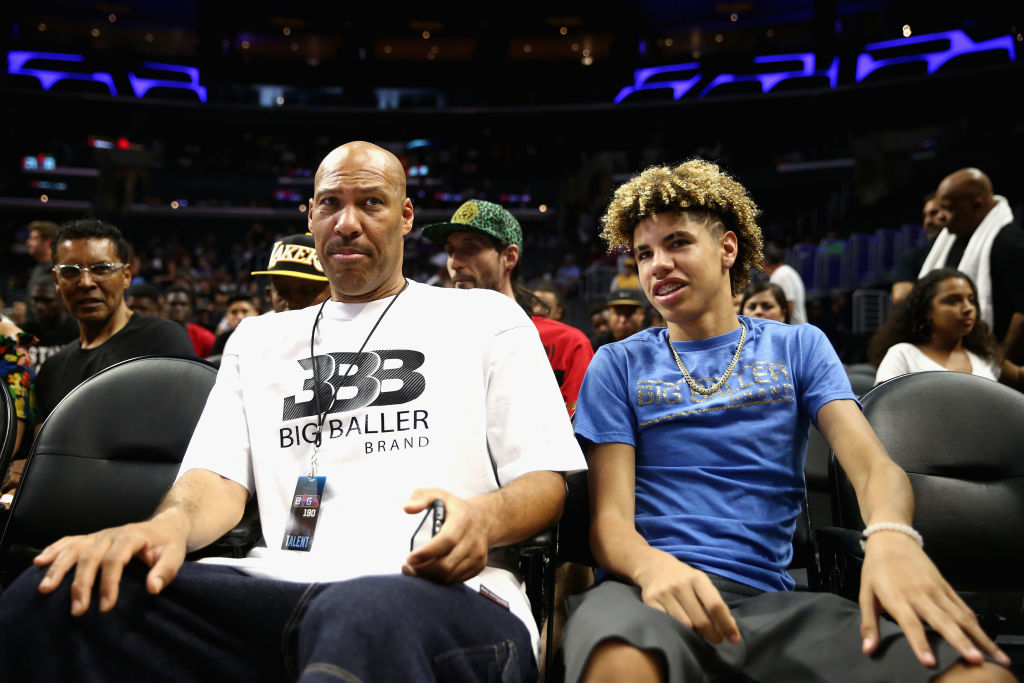 LaMelo Ball inherited at least one trait from his dad, Lavar -- his outsized confidence.