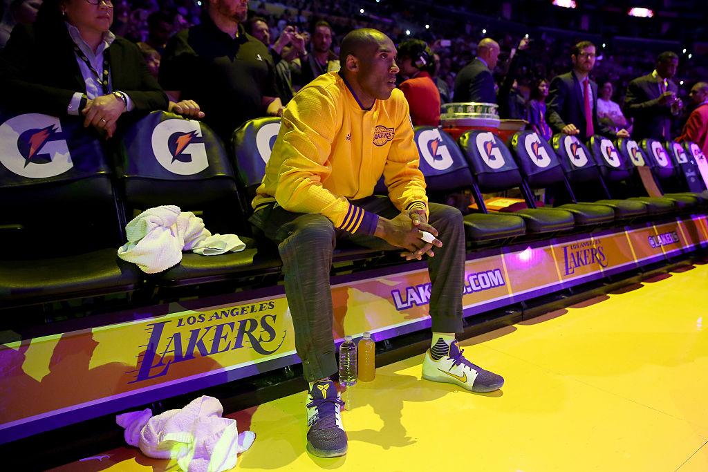 Former Los Angeles Lakers star guard Kobe Bryant