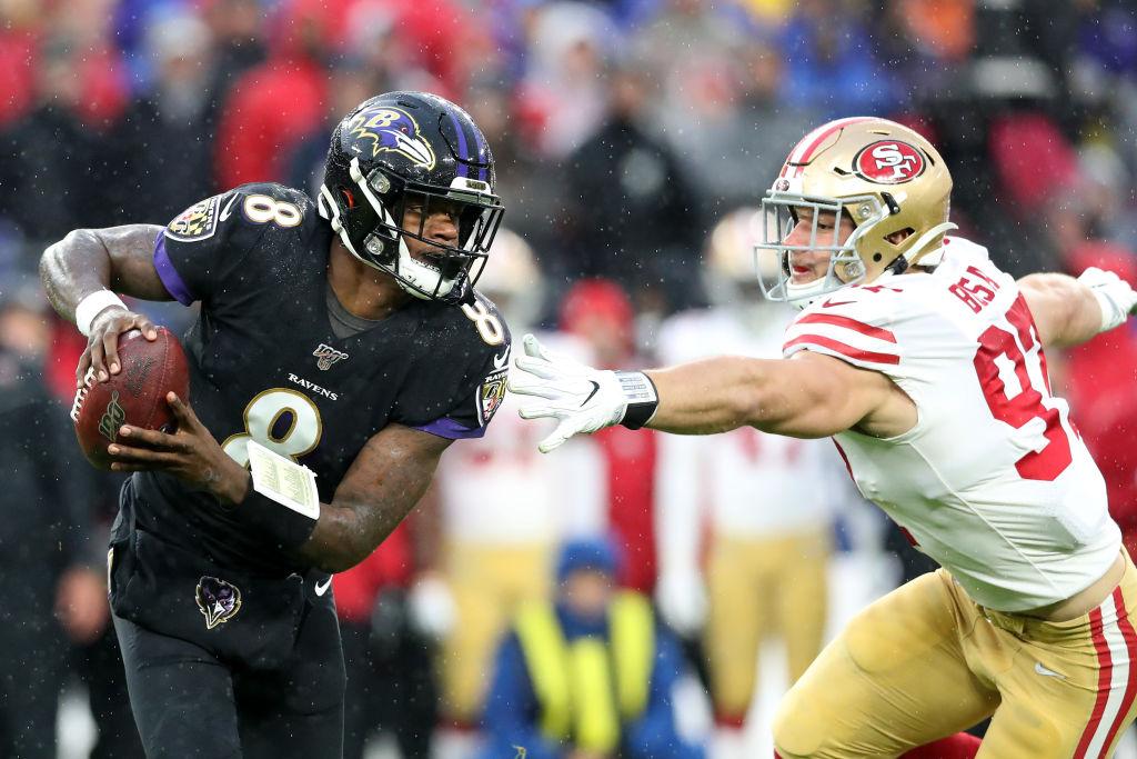 Ravens quarterback Lamar Jackson