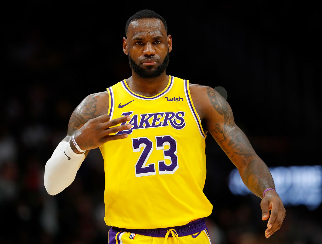 Los Angeles Lakers star LeBron James doesn't want to take nights off.