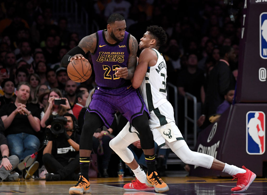 LeBron James vs. Giannis Antetokounmpo battles are always fun to watch