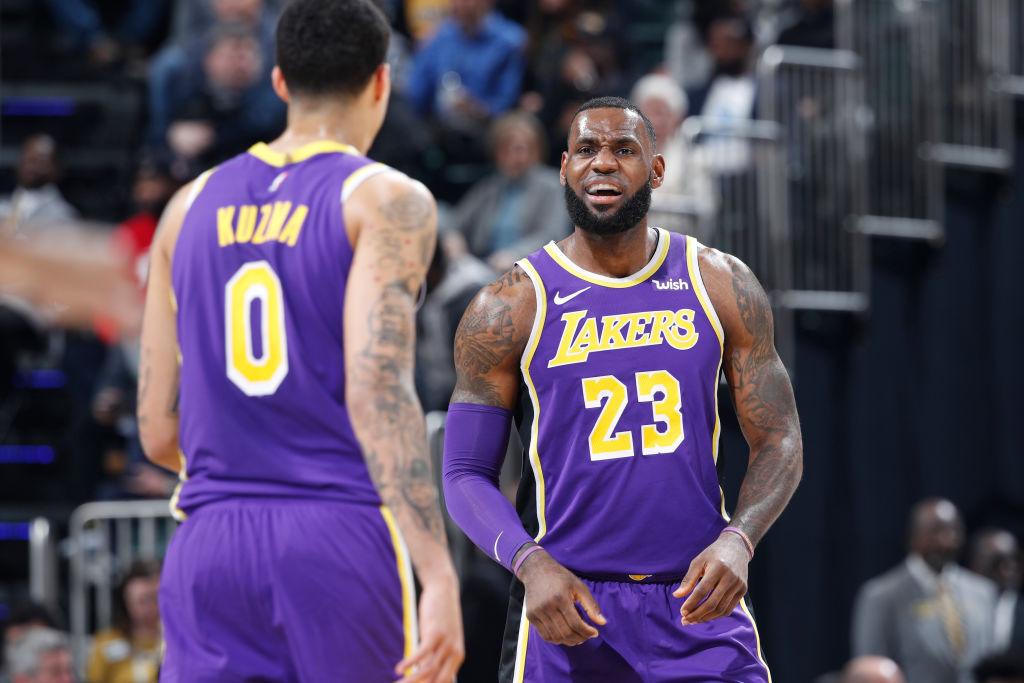 After the Lakers' Christmas Day game, Kyle Kuzma's trainer took aim at LeBron James.