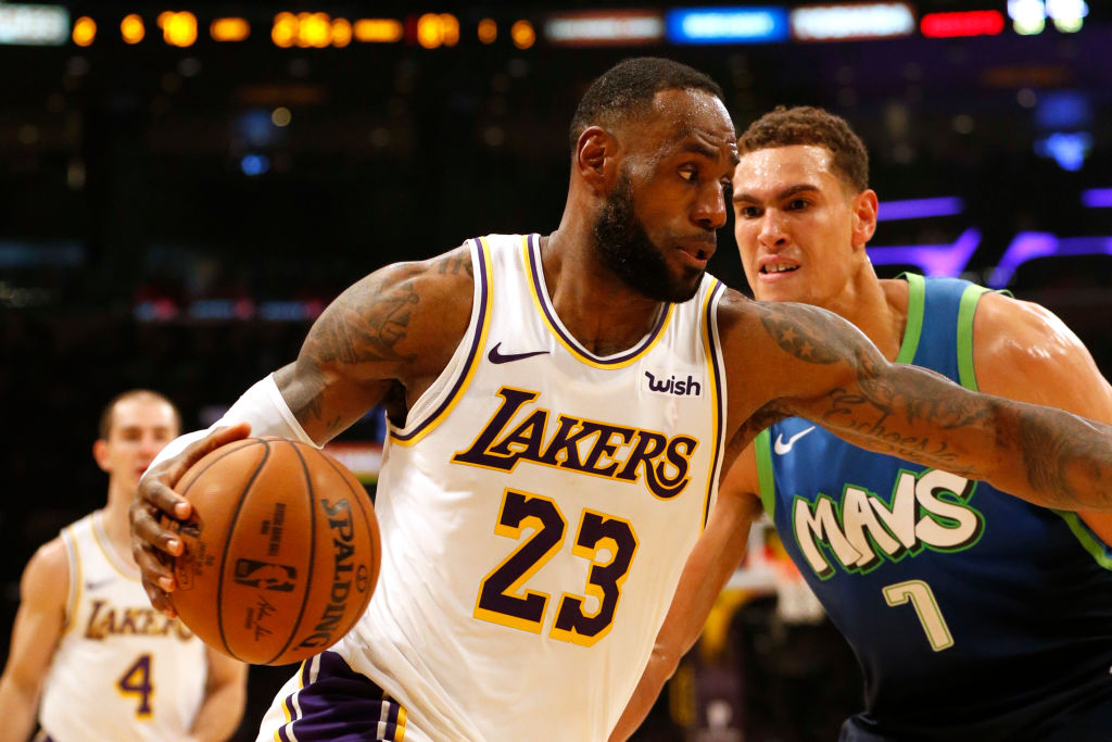 LeBron James ultimately wants to win NBA championships with the Los Angeles Lakers.