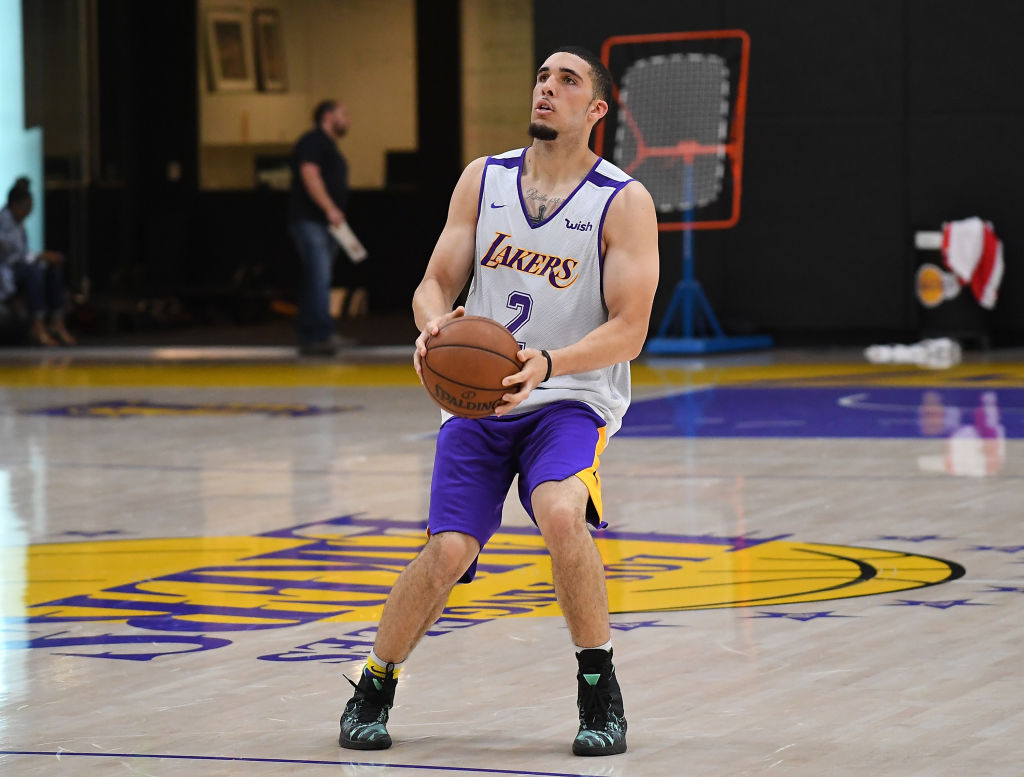 LiAngelo Ball has been practicing with the Oklahoma City Thunder's G-League affiliate.
