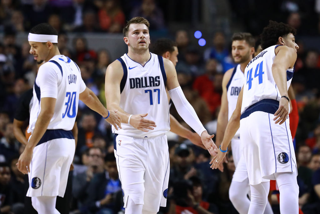 Luka Doncic has carried the Dallas Mavericks to relevance this season.