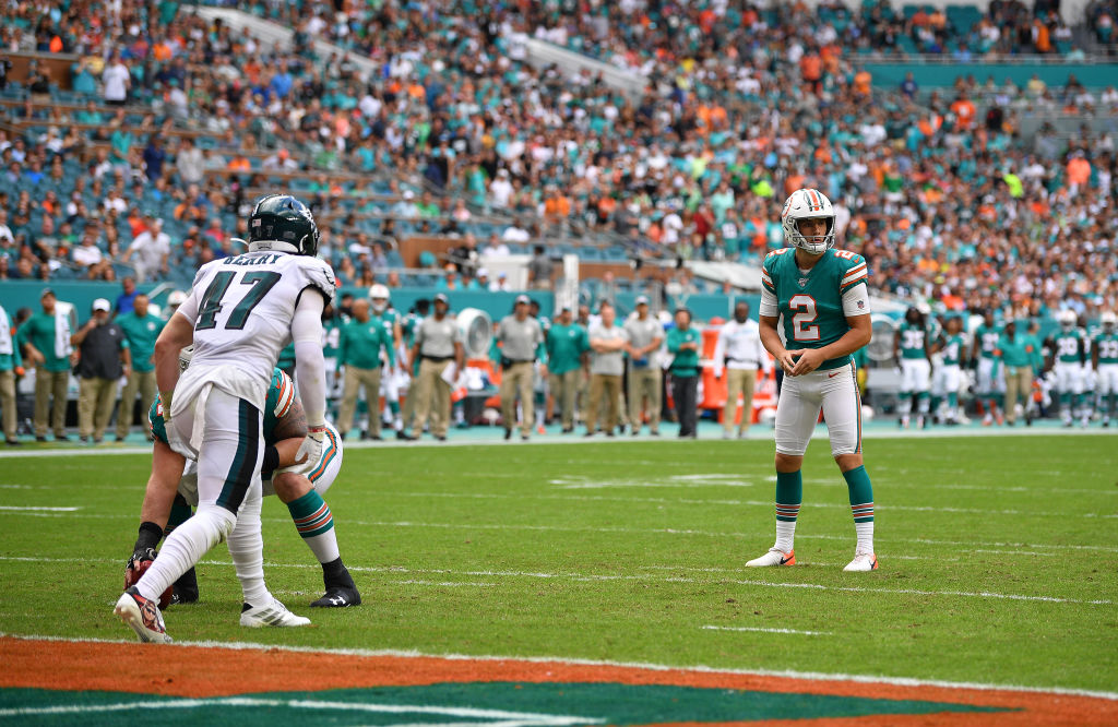 The Miami Dolphins have a reputation for running successful trick plays.