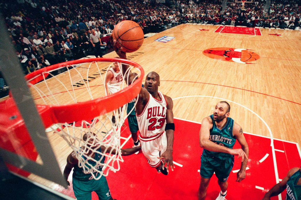 Michael Jordan reached incredible levels of NBA success with the Chicago Bulls.