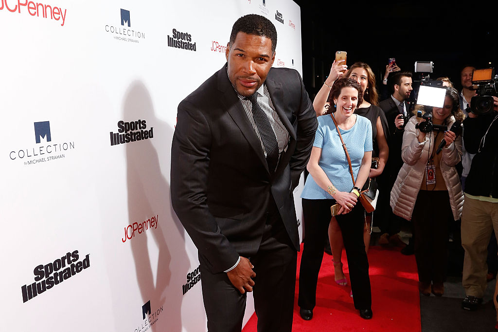 Michael Strahan attends the 2016 Sports Illustrated's Fashionable 50 NYC Event