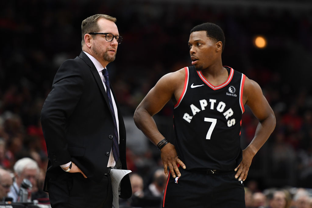 Given the roster shakeup and injuries early in the 2019-20 season, Nick Nurse should be on the shortlist to win NBA Coach of the Year.