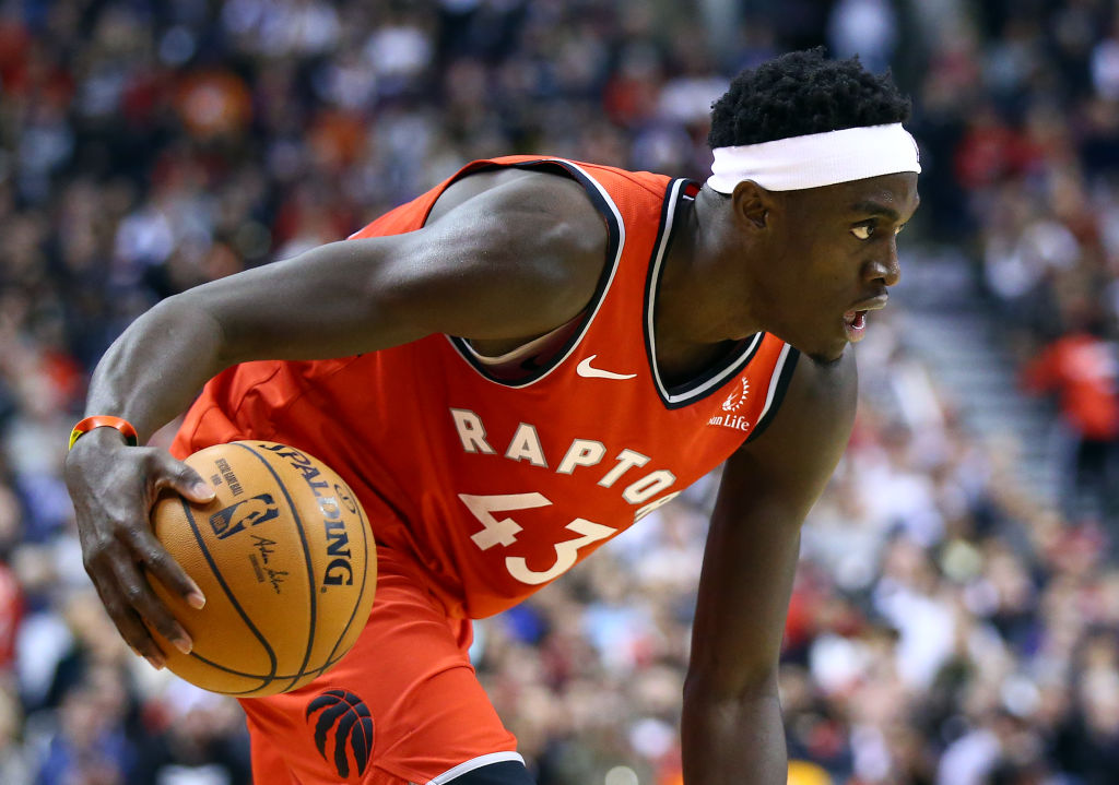 Pascal Siakam has kept the Toronto Raptors relevant, even without Kawhi Leonard.