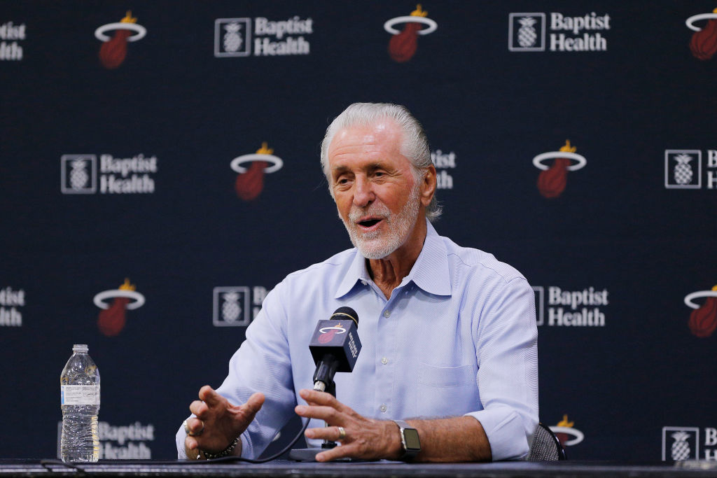 Heat executive Pat Riley has plans to get involved in what could be a wild 2021 free agent period in the NBA.