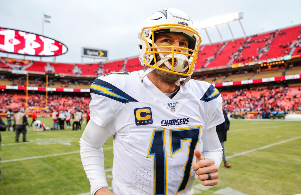 Chargers quarterback Philip Rivers