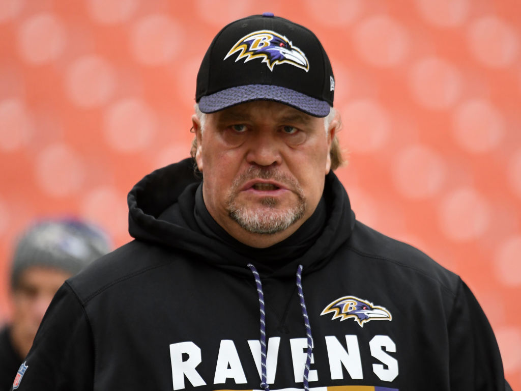 Offensive Coordinator Greg Roman has the Baltimore Ravens offense humming.
