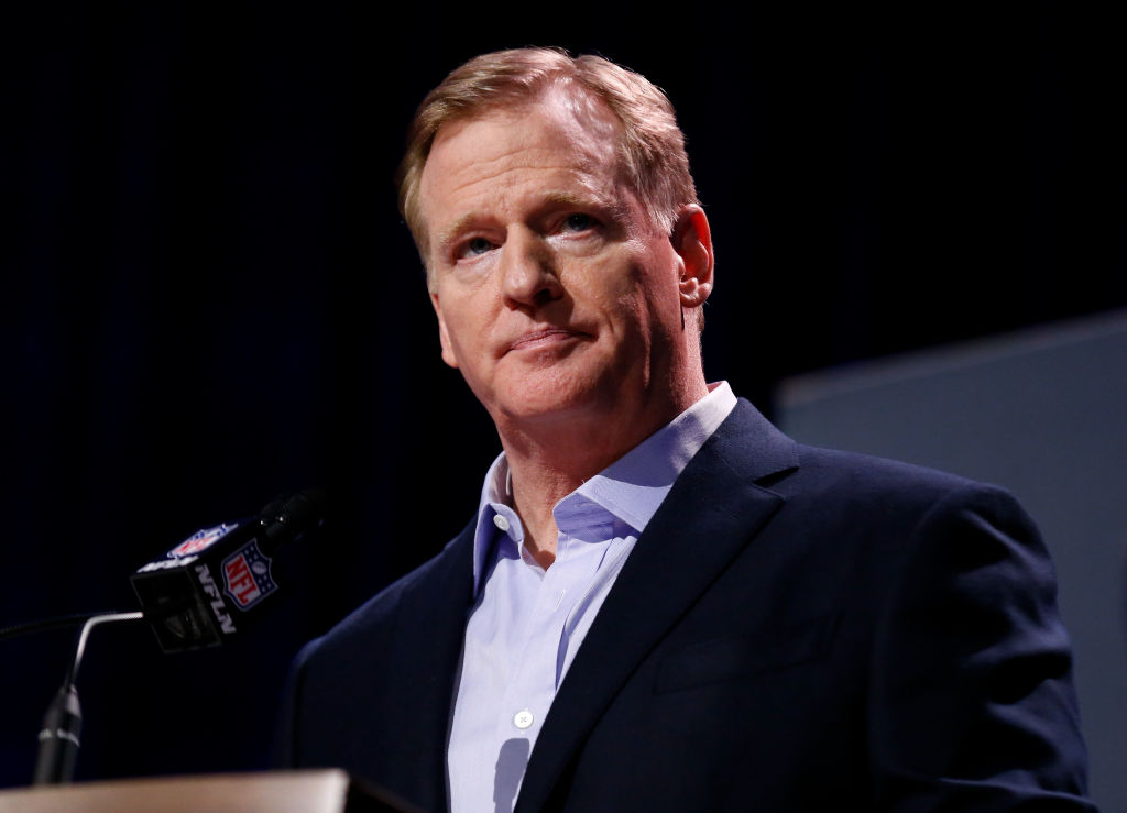 NFL comissioner Roger Goodell