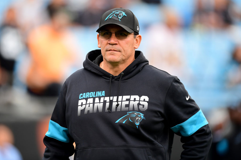 Panthers head coach Ron Rivera
