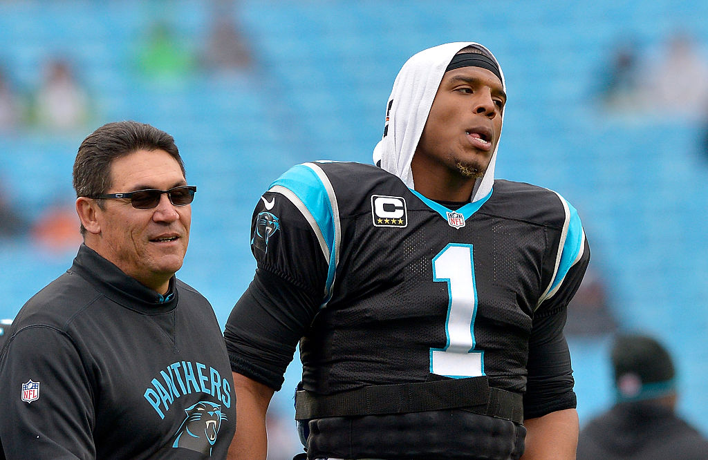 Former Panthers coach Ron Rivera achieved a lot of success with QB Cam Newton, but he has two words of caution to teams thinking of adding Newton.