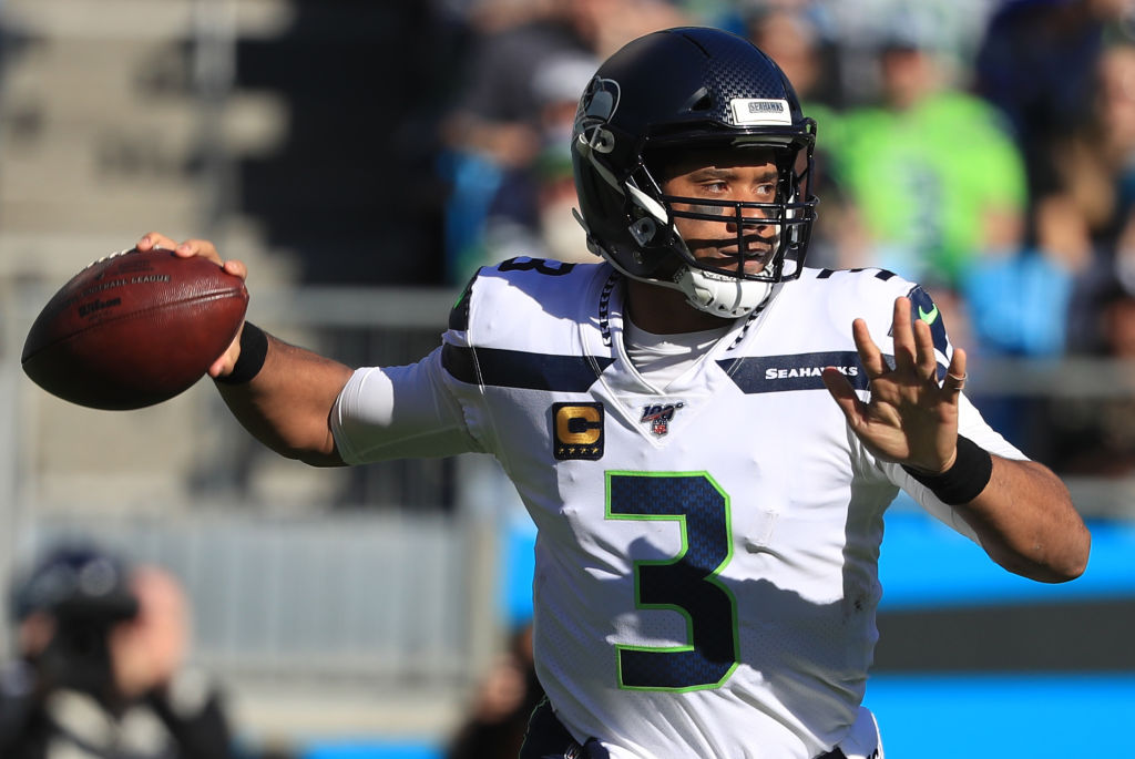 It won't be long before Seahawks QB Russell Wilson sets one of the few franchise passing records he doesn't already own.