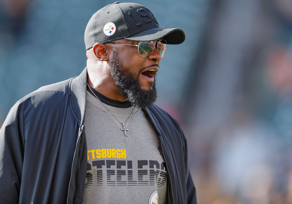 Pittsburgh Steelers head coach Mike Tomlin has his team fighting for a playoff spot.