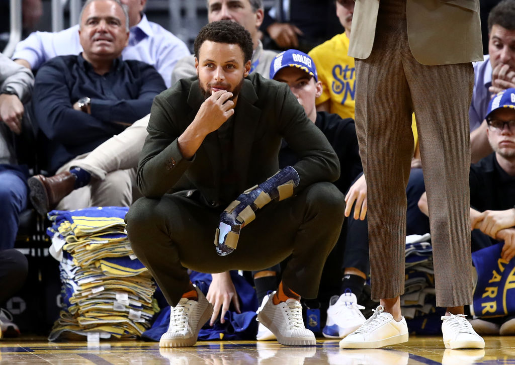 Stephen Curry's injury came at the worst possible time for the Golden State Warriors.