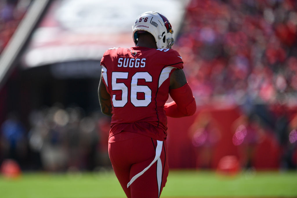 Terrell Suggs hopes to make an impact this postseason for the Kansas City Chiefs